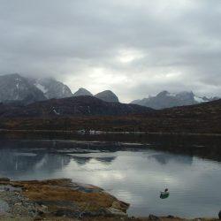 Spiegelglatter See