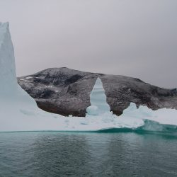 Beeindruckende Eisgebilde im Fjord