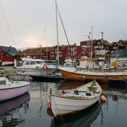 Färöer_Hafen von Tórshavn