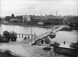 Prahmdrehbrücke Holtenau